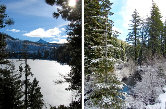 Caldera Views:Blue Lake and Link Creek